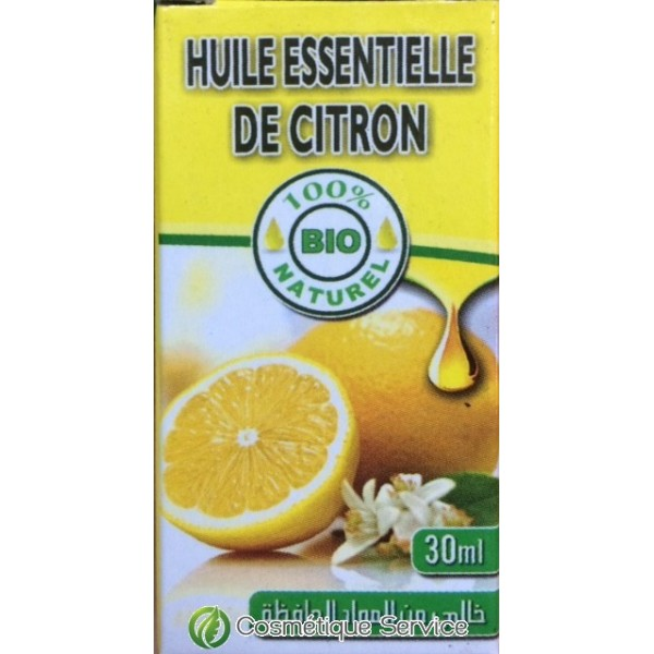 Huile essentielle de citron 30ml al kawthar cosm tique - Repulsif fourmi huile essentielle ...