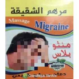 Baume contre migraine - ACHIFAYNE