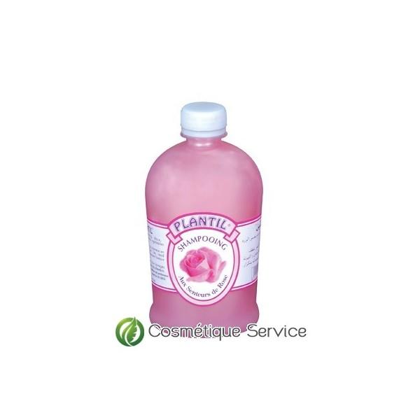 Shampoing à la rose 500ml - PLANTIL