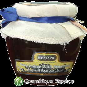 Miel à la graine de nigelle 610g - HEMANI