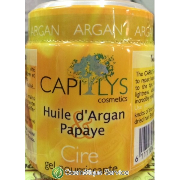 Gel pour cheveux àl'huile d'argan - CAPILYS