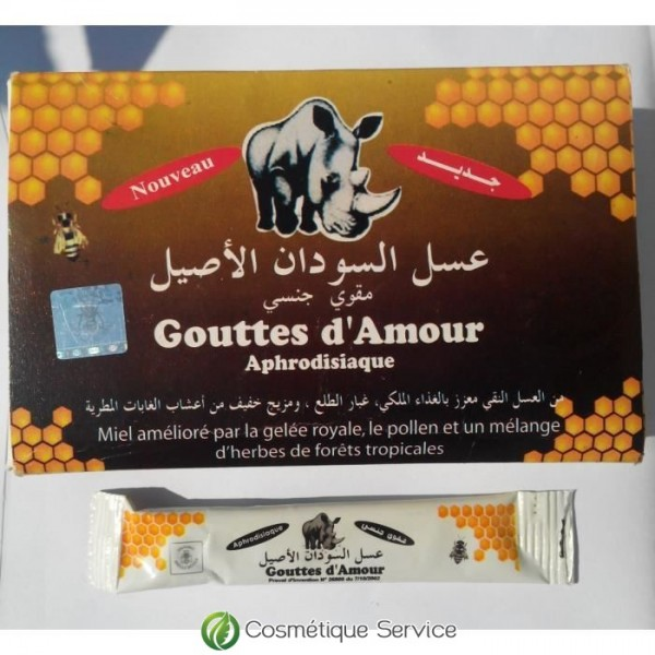 Goutte d'amour aphrodisiaque 10g