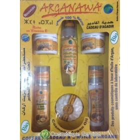 Coffret à base d'argan certifié - ARGANAWA