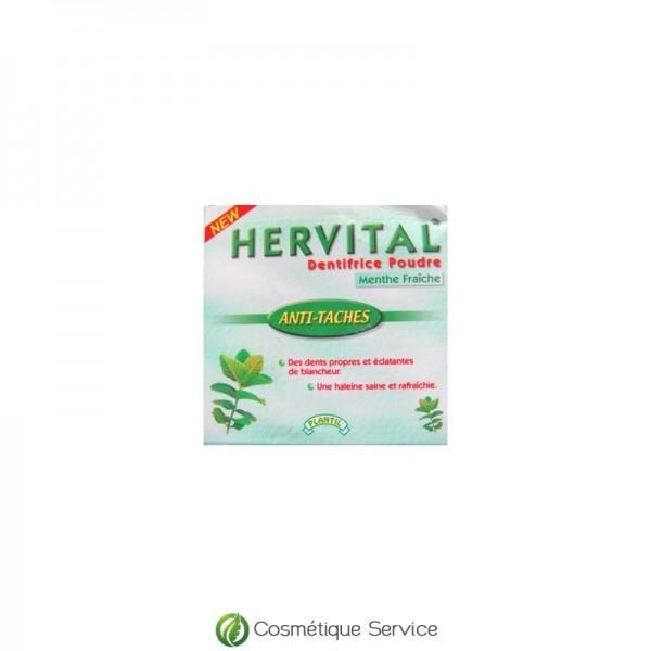 Dentifrice en poudre menthe fraiche - HERVITAL