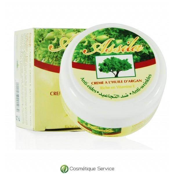 Crème à l'huile d'argan - ASSILA