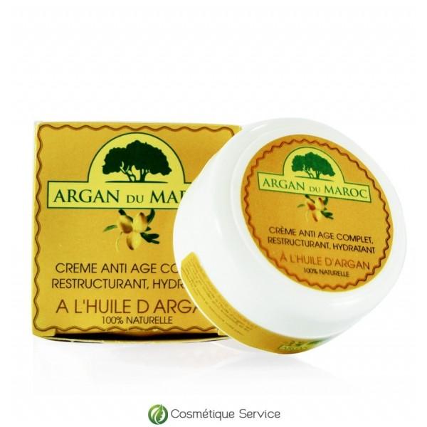 """Crème anti-âge """"Argan du Maroc"""" à l'huile d'argan"""