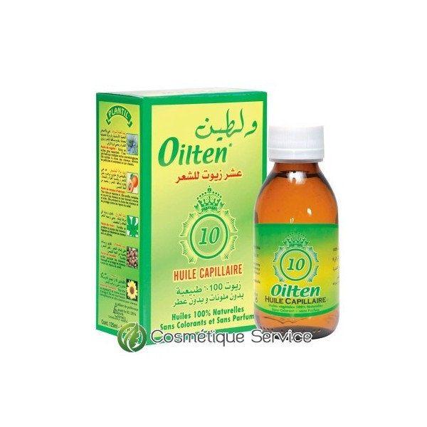 Huile capillaire au dix huiles oilten - PLANTIL